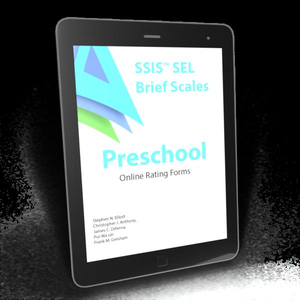 Brief Scales Preschool Forms Product Image